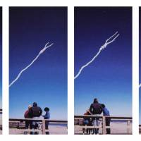 The space shuttle Challenger explodes shortly after lifting off from the Kennedy Space Center in Cape Canaveral, Florida, in this series of Jan. 28, 1986 photos. | AP