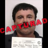 A video grab released Wednesday by Mexican General Attorney's office shows Mexican drug kingpin Joaquin 'El Chapo' Guzman in Altiplano maximum security federal prison in Almoloya de Juarez, State of Mexico. Mexican marines recaptured the fugitive on Jan. 8 in the northwest of the country, six months after his spectacular prison break embarrassed authorities. | PGR / AFP-JIJI