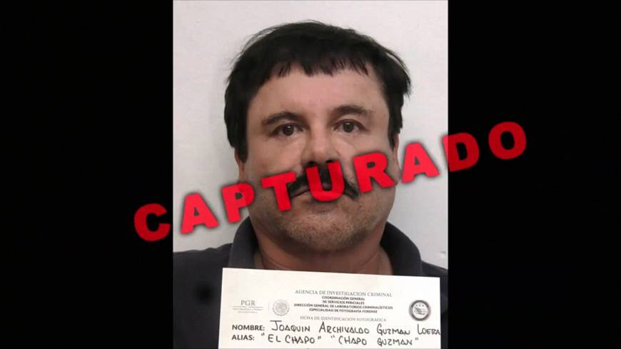 Instead of own biopic, Mexican authorities film epic 'Chapo' hunt video