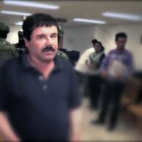 A video grab released Wednesday by Mexican General Attorney's office shows Mexican drug kingpin Joaquin 'El Chapo' Guzman in Altiplano maximum security federal prison. | PGR / AFP-JIJI