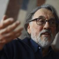 Hungarian-born cinematographer Vilmos Zsigmond is interviewed last April by the Hungarian News Agency MTI in Budapest. The legendary cinematographer Zsigmond, best known for 'The Deer Hunter' and 'Close Encounters of the Third Kind,' has died. His business partner ,Yuri Neyman, confirmed that Zsigmond died on Friday in Big Sur, California. He was 85. | TAMAS KOVACS / MTI VIA AP