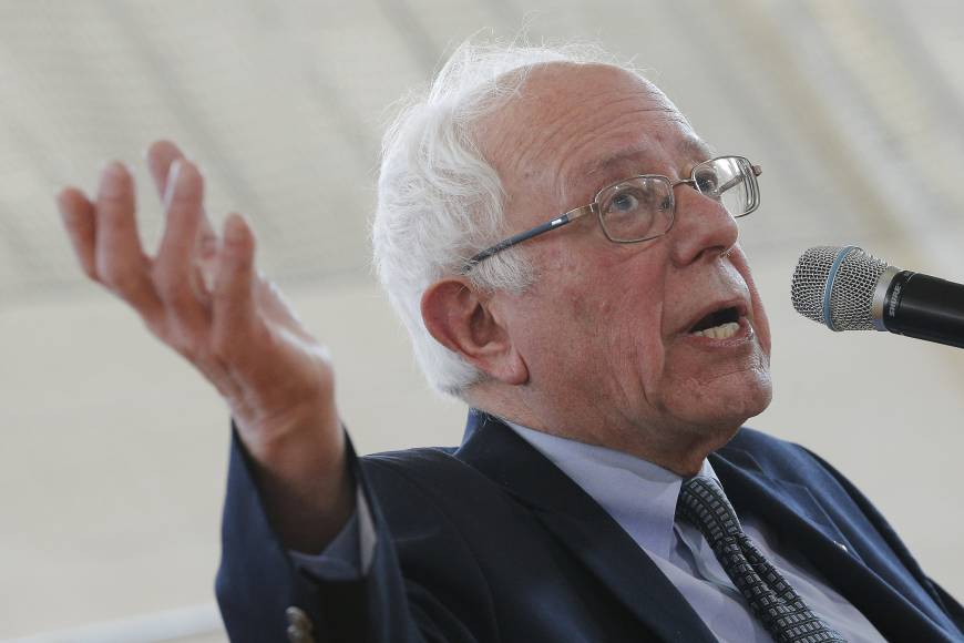 Democrats fear Clinton spark failing as 'gadfly' Sanders proves to be 'lightening bug'