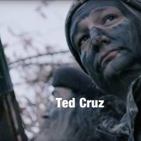 This image made from video provided by the Cruz campaign via YouTube shows Ted Cruz in a video where he is endorsed by 'Duck Dynasty' star Phil Robertson. Cruz has made the defense of Second Amendment rights a cornerstone of his presidential campaign, touting his past legal work fighting against gun control laws.   CRUZ CAMPAIGN / YOUTUBE VIA AP
