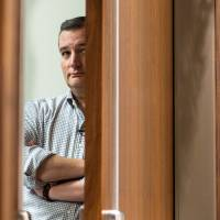 Republican presidential candidate Sen. Ted Cruz waits to be introduced at a Conservative Leadership Project forum in Columbia, South Carolina, on Friday. | AP