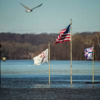 Levees failing amid 'pool table flat' Midwest's rare, historic winter floods