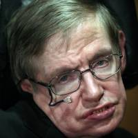 Stephen Hawking | BLOOMBERG NEWS
