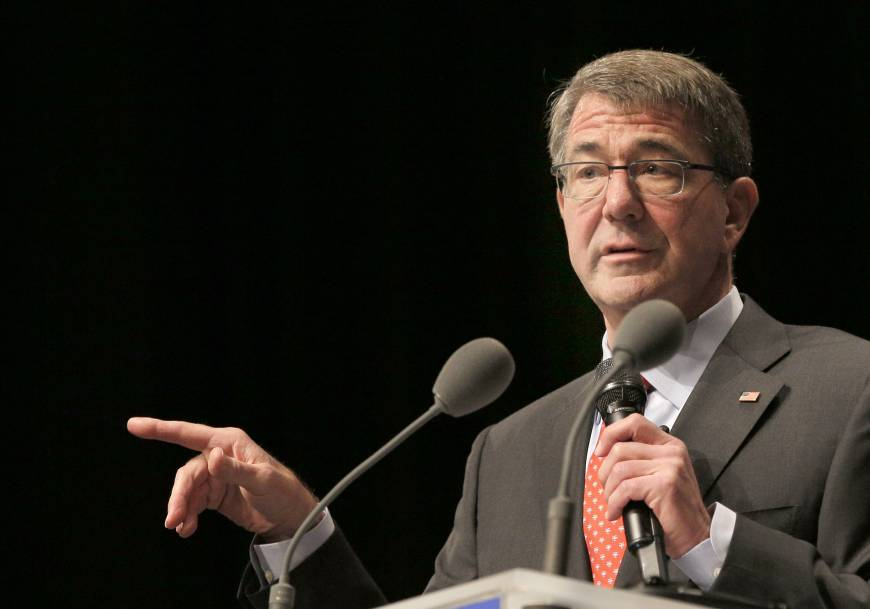 Pentagon chief Carter says some anti-IS coalition partners doing 'nothing at all'