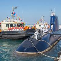 Israel takes delivery of fifth German-made sub capable of launching nuke-tipped cruise missiles