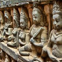 A bas relief is seen at the Terrace of the Leper King, one of many ancient sites a few kilometers from the Cambodian city of Siem Reap. | ISTOCK