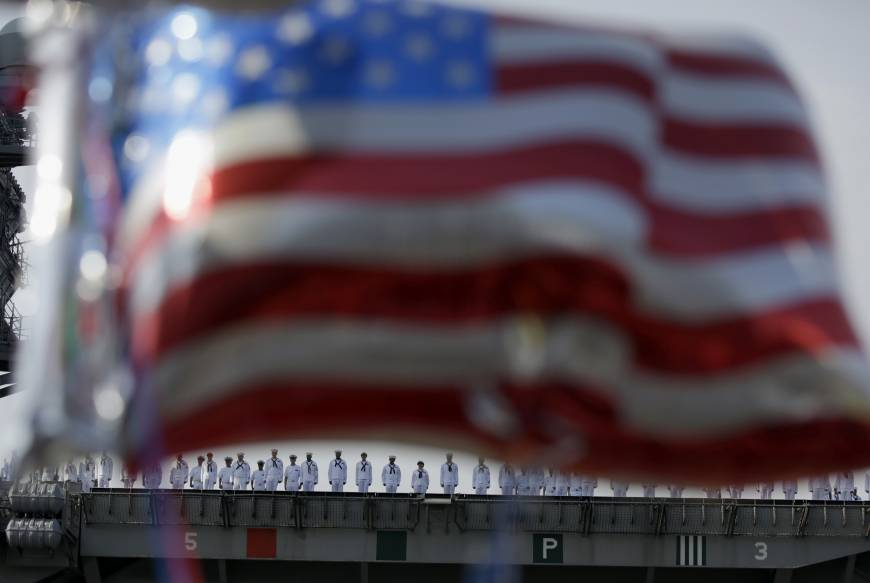 U.S. Pacific Fleet shrinks even as China grows more aggressive