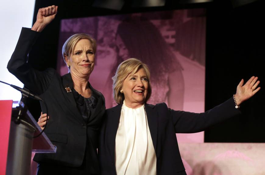 Clinton gets Planned Parenthood backing in primary race, notes consequences if GOP rival wins election