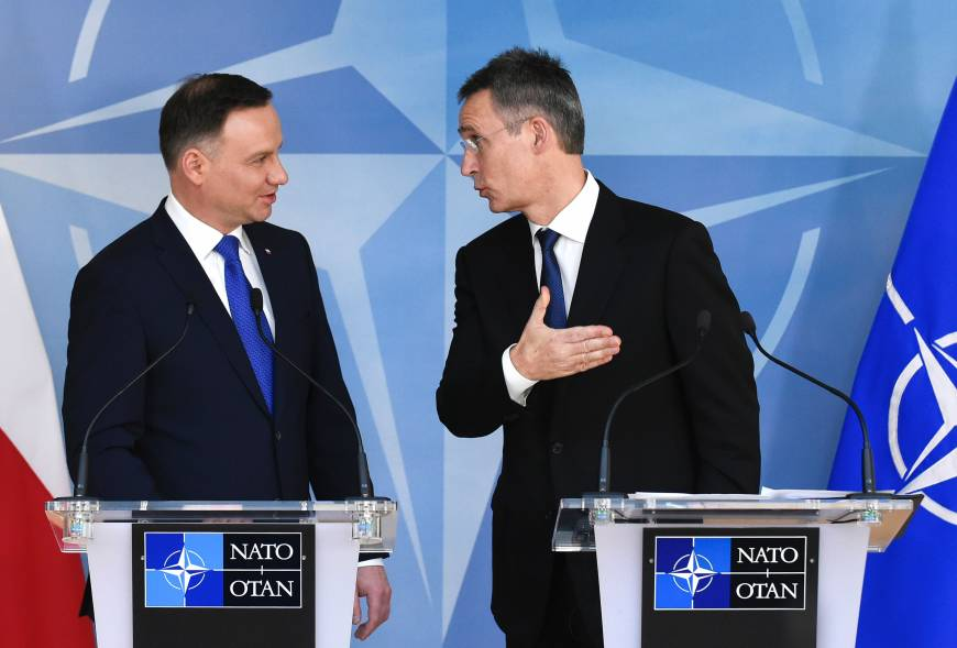 Poland clouds NATO's nuanced plan to engage Russia