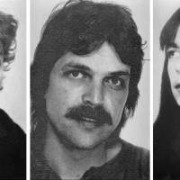 The undated wanted photos provided by German Federal Criminal Police show (from left) Burkhard Garweg, Ernst-Volker Wilhelm Staub and Daniela Klette, who are suspected being member in the RAF terror group. Three former members of the disbanded leftist Red Army Faction who remain at large have reportedly been linked to a botched armored car robbery near Bremen last summer. | BKA VIA AP