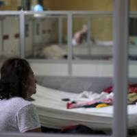 A Guillain-Barre syndrome patient recovers in the neurology ward at the Rosales National Hospital in San Salvador Wednesday. The hospital reported an increase of Guillain-Barre syndrome cases since September. Of the 85 patients attended to, 1 out of 3 tested positive to zika virus. | REUTERS