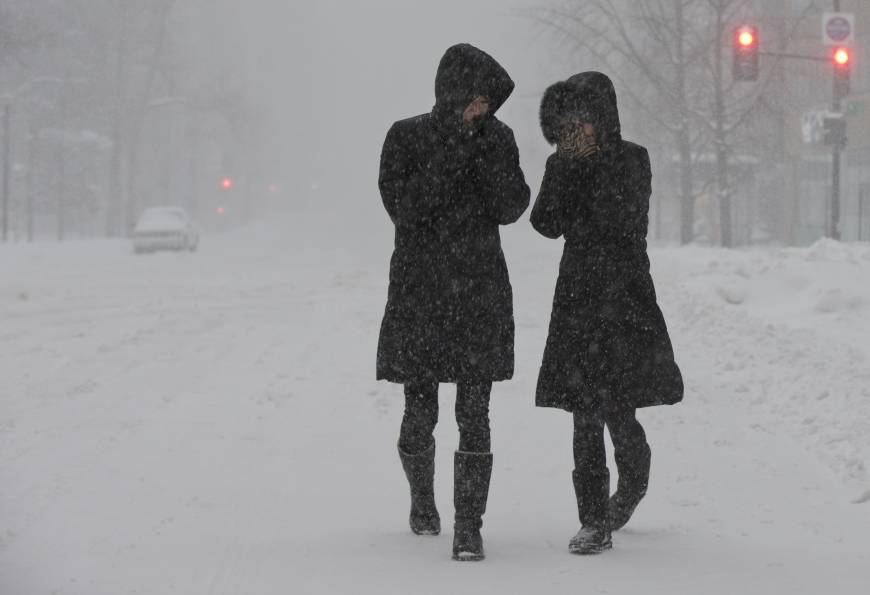 Blizzard brings much of U.S. East Coast to a standstill