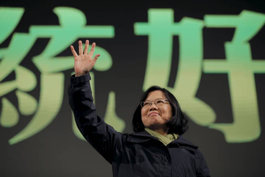 Taiwan elects its first female president: Tsai Ing-wen