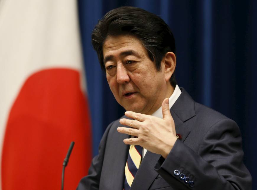 Abe to push for constitutional revision as ruling bloc seeks Upper House majority