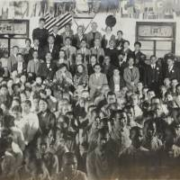 Photo of Helen Keller's 1937 visit to Gifu school discovered