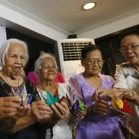 Filipino 'comfort women' want plight raised with Emperor