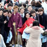 Japan's newest adults ponder politics on Coming-of-Age Day