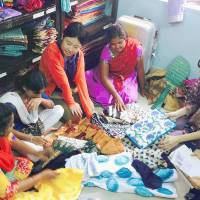 Japan students fashion way for abused Indian women to pursue independence