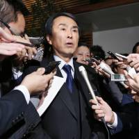 New economy chief Ishihara vows to stick to Abenomics program