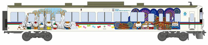 Seibu Railway cars to feature Hello Kitty characters in tourist draw