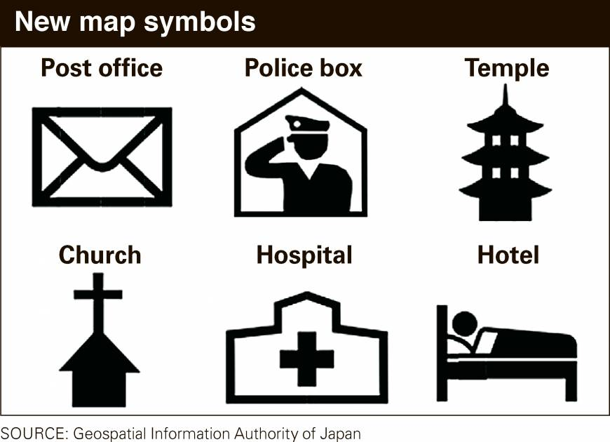 Japan Revamps Map Symbols That Baffle Tourists The Japan Times