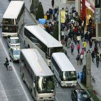 Plans afoot to curb traffic congestion caused by tour buses