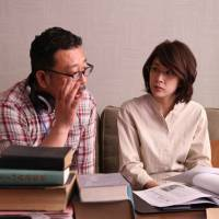 "Director Yoshihiro Nakamura and actress Yuko Takeuchi  | © ""THE INERASABLE"" FILM PARTNERS"