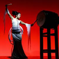 Drum and grace: Tao member Arisa Nishi says her drumming troupe is looking to mimic Las Vegas-style productions in its future.
