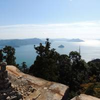 The view from Mount Misen.   DAVEY YOUNG