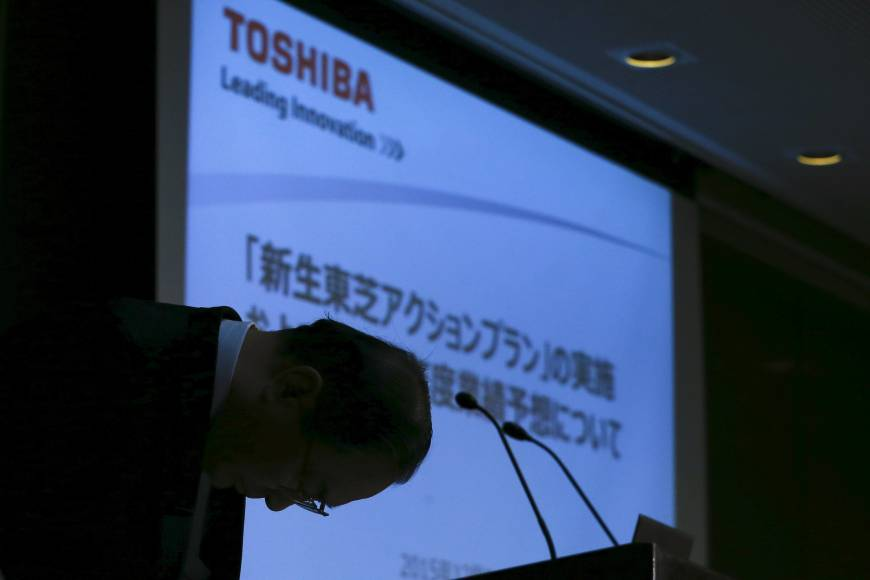 The elephant in the room for Toshiba is nuclear