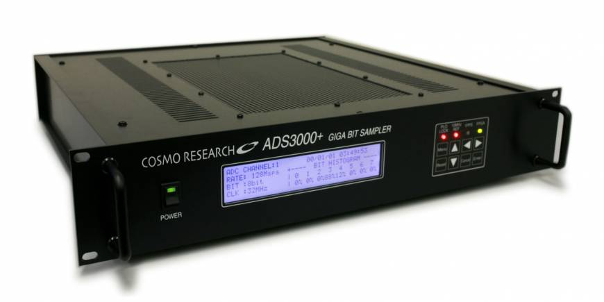 An ADS3000, equipment sampling electric wave from stars, made by Cosmo Research Corp.