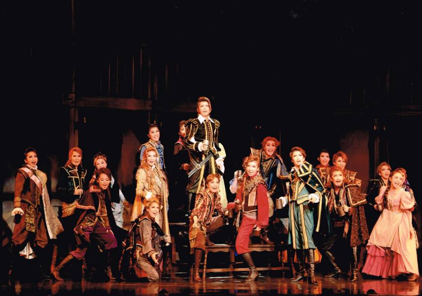 Takarazuka's musical gives the Bard new life
