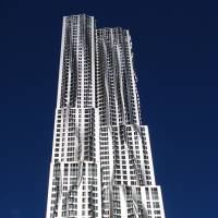 Eight Spruce Street (New York, 2011) | COURTESY OF GEHRY PARTNERS, LLP