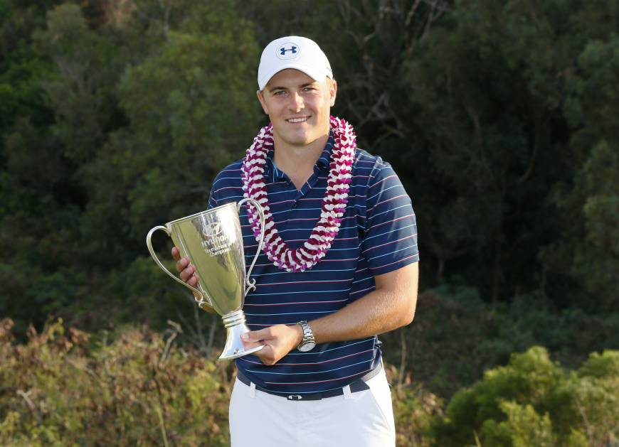 Spieth runs away with title in first event of '16