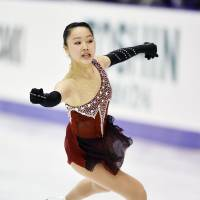 Higuchi in elite class with Mao after result at nationals