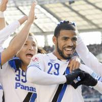 Patric brace helps Gamba retain Emperor's Cup