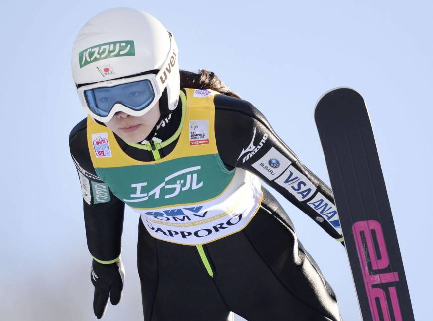 Takanashi wins third straight World Cup event