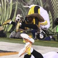 Steelers prevail in bad-tempered clash with Bengals