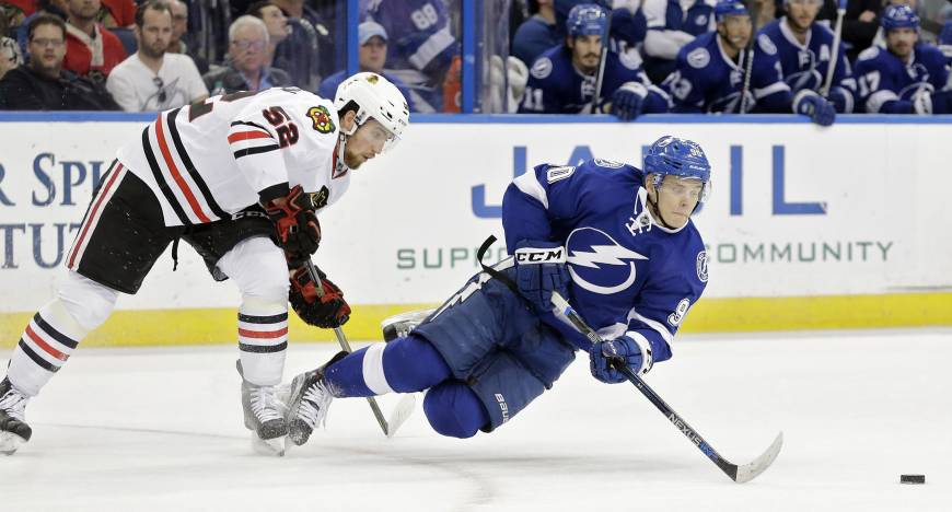Tampa Bay ends Chicago's 12-game win streak