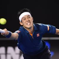 Djokovic overpowers Nishikori in quarterfinals