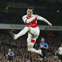 Arsenal's Mesut Ozil is a class above the Premier League's other top players. In the past decade, elite talents such as Cristiano Ronaldo, Gareth Bale, Luis Suarez and Fernando Torres starred in the Premier League, but have moved on to other leagues | REUTERS