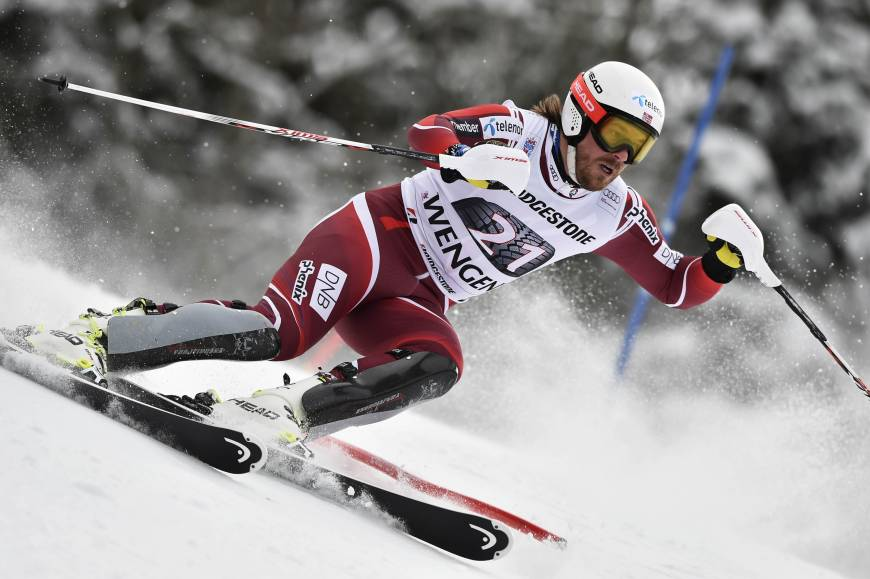 Jansrud edges Svindal to win super-combined