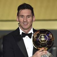 Messi player of year for record fifth time
