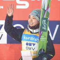Takanashi earns fourth consecutive World Cup triumph