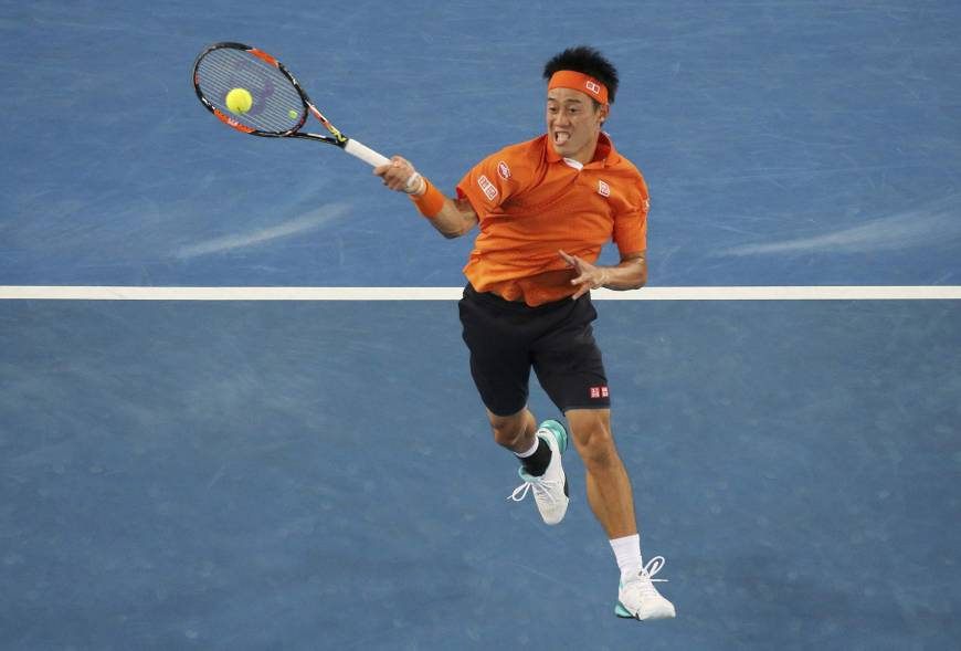 Nishikori overcomes wrist trouble to make 4th round