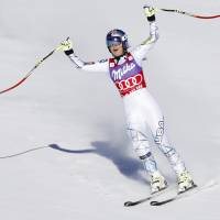 Vonn establishes record for most women's World Cup downhill triumphs