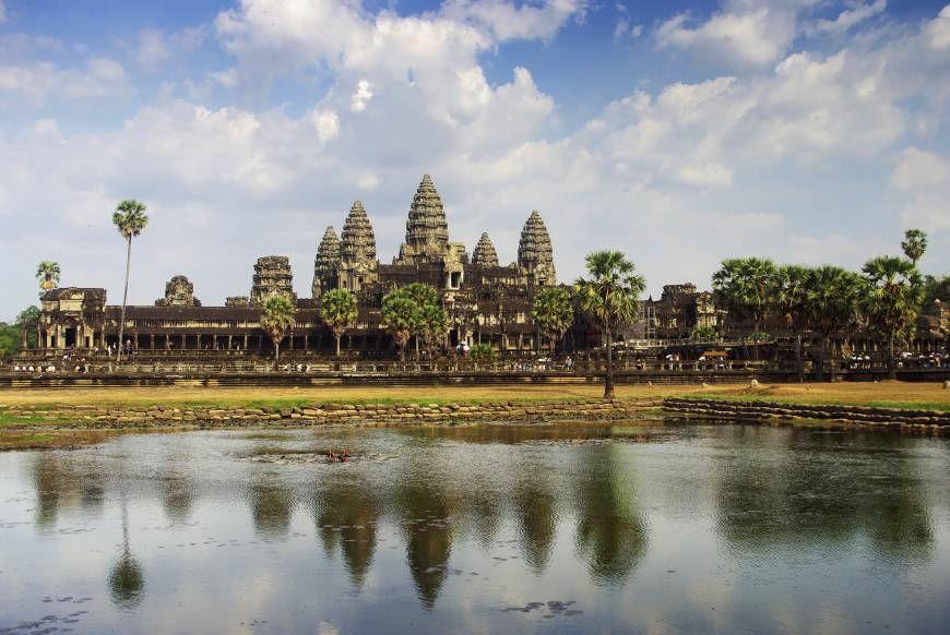Angkor Wat is the most famous temple of the Angkor complex.